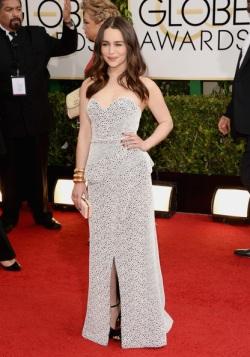 Emilia Clarke 71st+Annual+Golden+Globe+Awards+Arrivals+UlmDK-SvnfQl