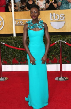 Lupita NyongÂ'o 20th+Annual+Screen+Actors+Guild+Awards+Arrivals+Qi2xVGkhGeFl