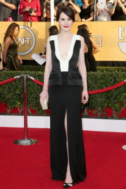Michelle Dockery 20th+Annual+Screen+Actors+Guild+Awards+Arrivals+xkr-5N4d3kDl