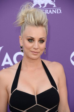 KALEY CUOCO at 48th Annual Academy of Country Music Awards in Las Vegas