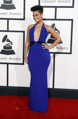 Alicia Keys - Grammy Awards - 002