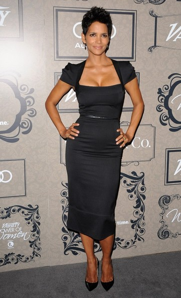 Halle+Berry+Dresses+Skirts+Little+Black+Dress+4u2qJG2_x94l