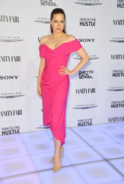 Amy Adams - Vanity Fair & Chrysler Toasts the 'American Hustle' Cast - 002