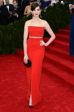 Anne Hathaway - Costume Institute Gala - 003