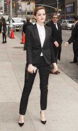 Emma Watson Letterman NYC 032514_5