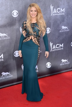 Shakira - Academy of Country Music Awards - 004