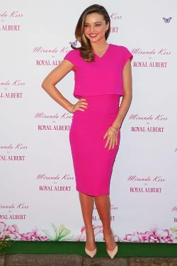 Miranda Kerr - Royal Albert Pop-Up Store Sydney - 001