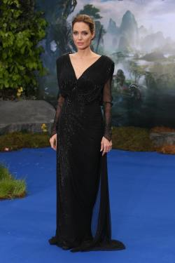 Angelina Jolie - 'Maleficent' Costume And Props Private Reception - 005
