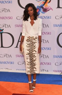 Liya Kebede Arrivals+CFDA+Fashion+Awards+jLukrpXIRz4l