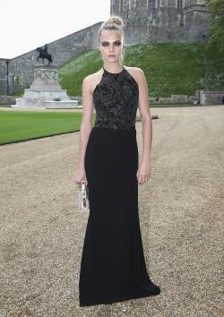 Cara Delevingne - The Duke of Cambridge Celebrates The Royal Marsden - 003