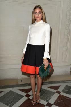 Olivia Palermo - 20140709 - Valentino Fashion Show - 001