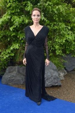 Angelina Jolie - 'Maleficent' Costume And Props Private Reception - 006