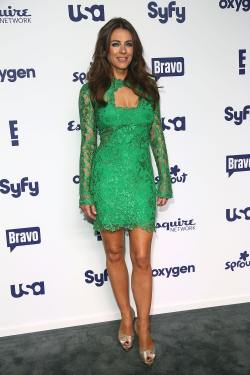 Elizabeth Hurley - NBCUniversal Cable Entertainment Upfronts - 002