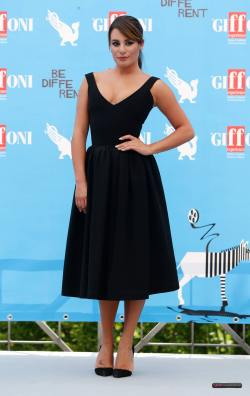 Lea Michele at the Giffoni Film Festival013