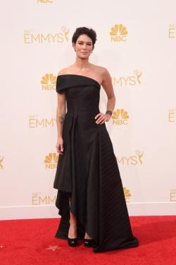 Lena Headey Arrivals+66th+Annual+Primetime+Emmy+Awards+IzM73E1qY-Hl