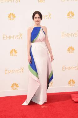 Michelle Dockery Arrivals+66th+Annual+Primetime+Emmy+Awards+x5fJDtrkhl6l