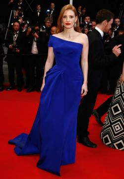 Jessica Chastain - 'The Disappearance of Eleanor Rigby' Cannes Premiere - 004