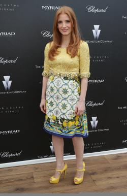 Jessica Chastain - 'The Disappearance of Eleanor Rigby' Pre-Screening Reception - 001