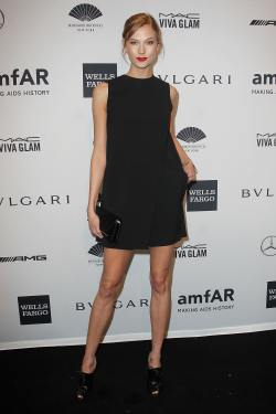 Karlie Kloss - amfAR New York Gala - 001