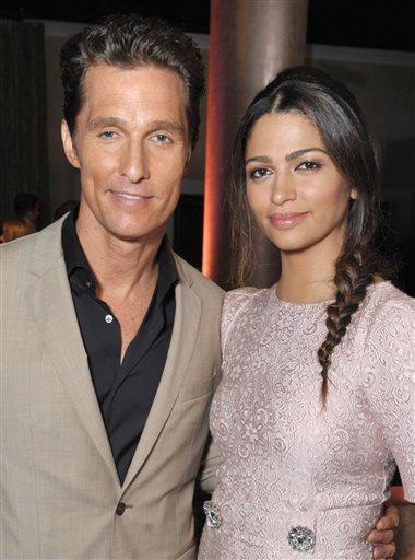 Matthew McConaughey, Camila Alves McConaughey
