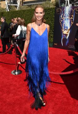 Heidi Klum - 20140816 - Creative Arts Emmy Awards - 013