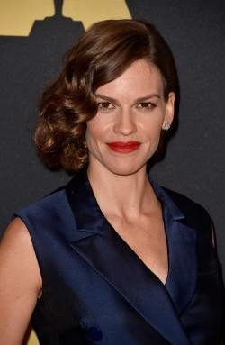 Hilary Swank Academy Of Motion Picture Arts And Sciences' Governors Awards November 8-2014 1004
