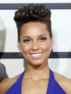 Alicia Keys - Grammy Awards - 001