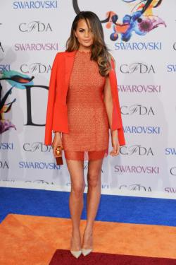 Chrissy+Teigen+Arrivals+CFDA+Fashion+Awards+BcuVhXeOIbdx