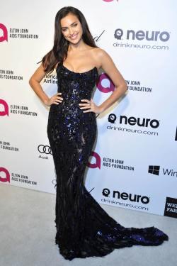 Irina Shayk Elton John Oscar Party_3