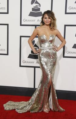 Chrissy Teigen (56th Annual Grammy Awards)