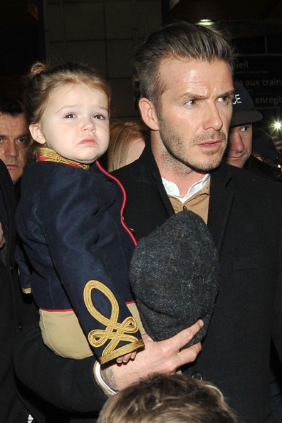 David Beckham wife Victoria Beckham arrive QgkkXiDRAG1l