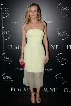 Diane Kruger - Flaunt Magazine Party in Paris, France - 25-10-2014 002