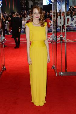 Emma Stone ('The Amazing Spider-Man 2′ premiere in London)
