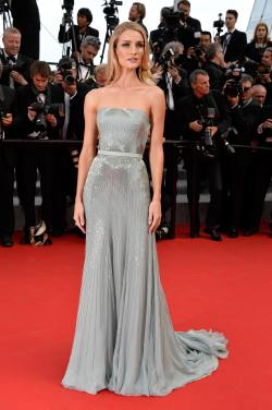 Rosie Huntington-Whiteley (The Search Premiere at the 67th Annual Cannes Film Festival)