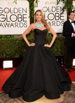Sofia Vergara (71st Annual Golden Globe Awards)