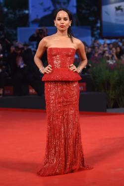 Zoe Kravitz (Good Kill premiere at the Venice Film Festival)