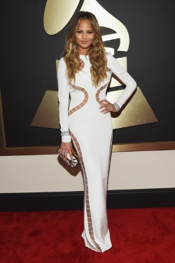 Chrissy+Teigen+57th+Annual+GRAMMY+Awards+Red+xkS_YKcAEssl