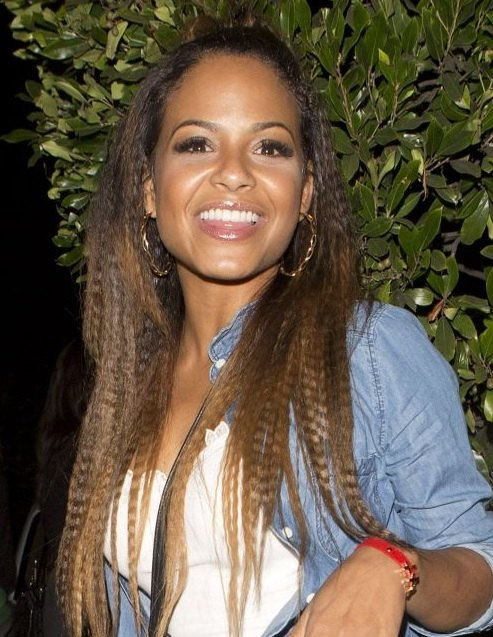 Christina-Milians-Long-Crimped-Hairstyle