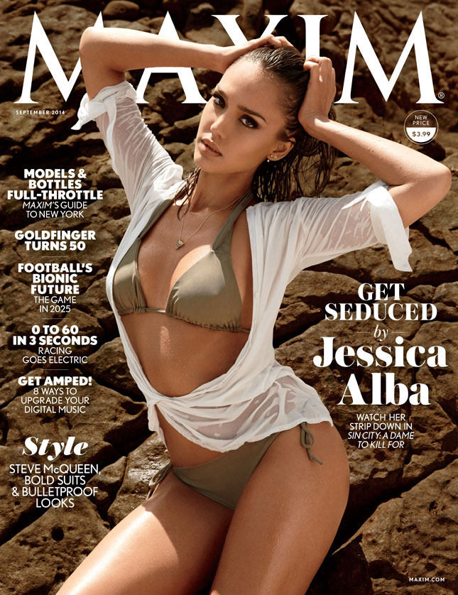 Jessica Alba - Maxim magazine September