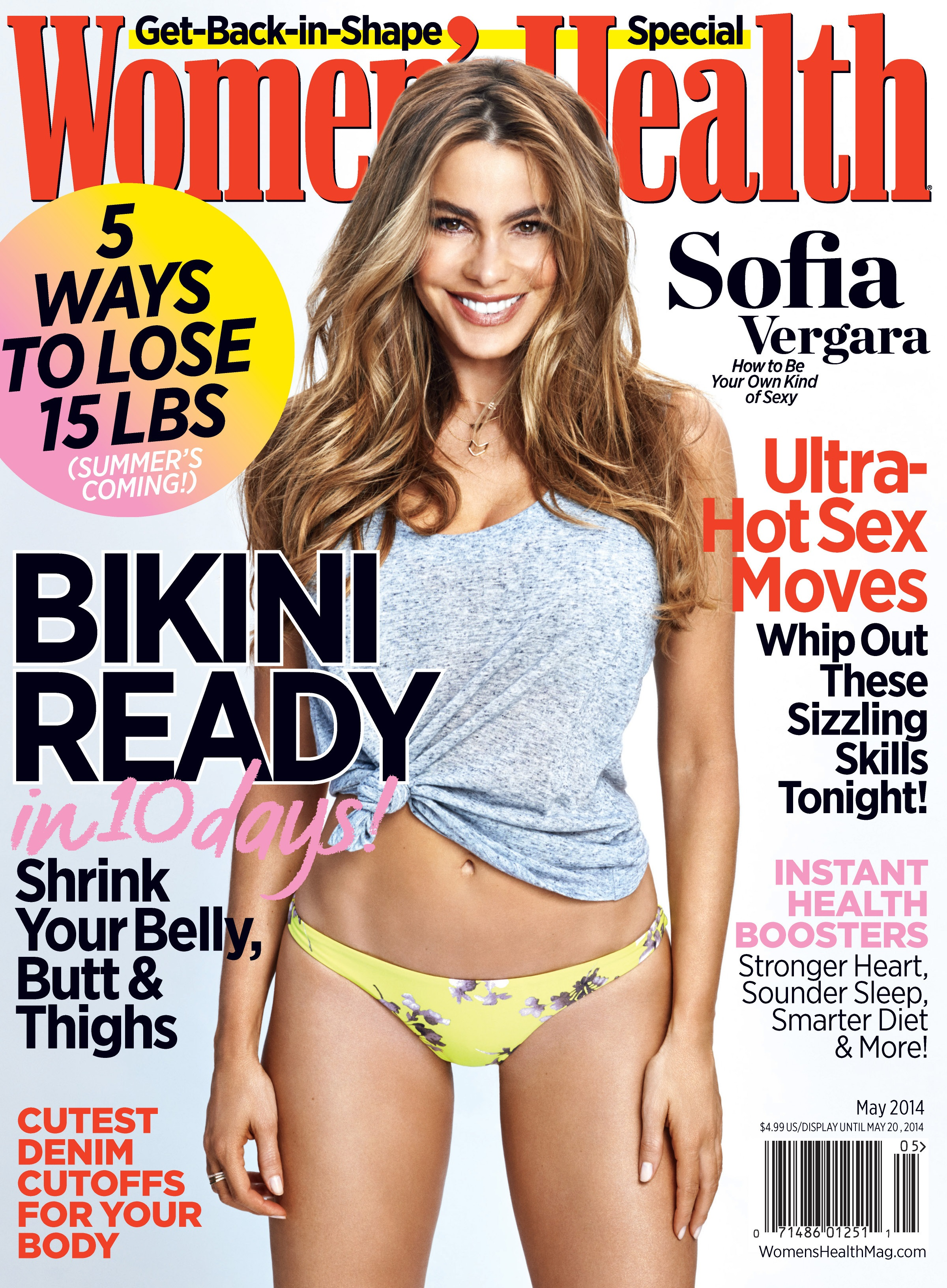 Sofia Vergara - Women's Health - May