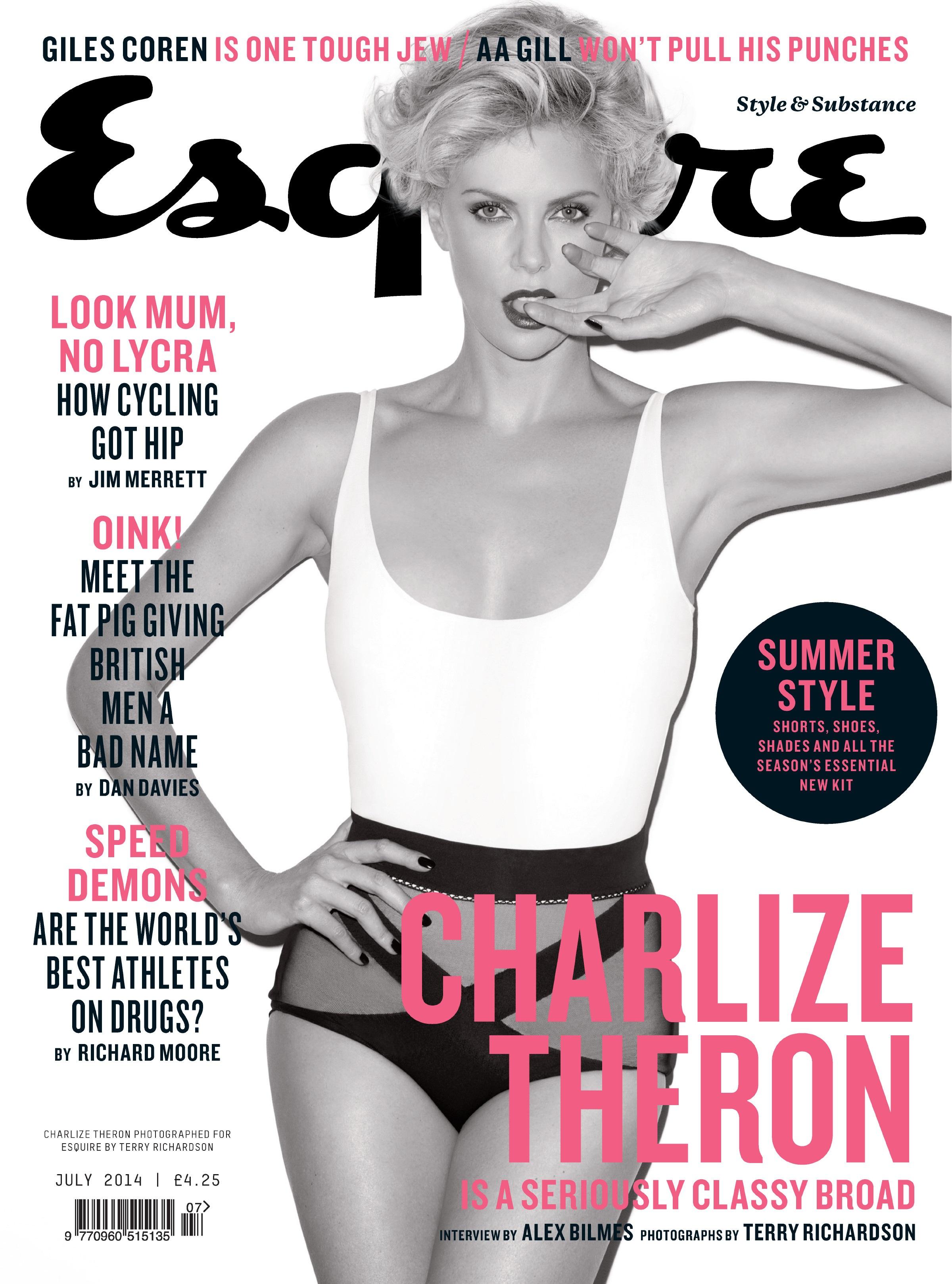 Charlize Theron - Esquire UK magazine July