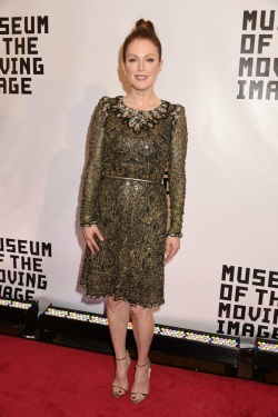 Julianne Moore Museum Of The Moving Image Honors Julianne Moore January 20-2015 084