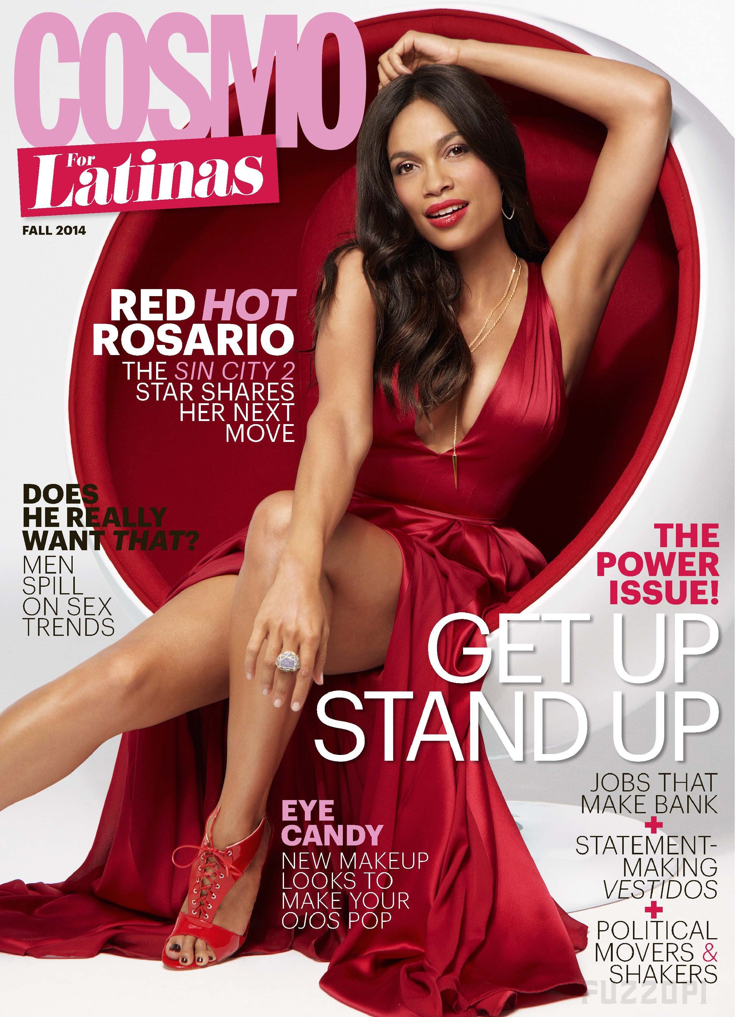 Rosario Dawson - Cosmopolitan for Latinas - October