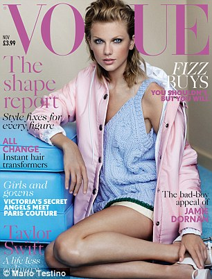Taylor Swift - Vogue UK - November