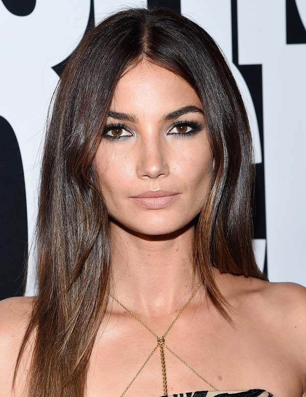 3_stylish_hair_color_ideas_Lily_Aldridge_hair3