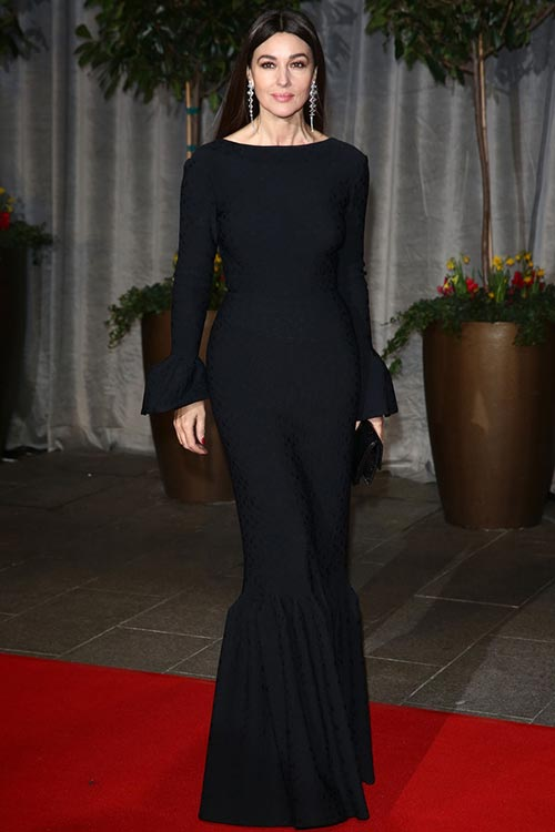 BAFTA_Awards_2015_red_carpet_fashion_Monica_Bellucci