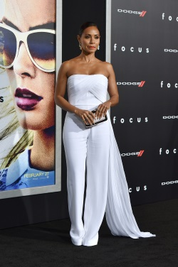 Jada Pinkett Smith LA World Premiere Of Warner Bros Pictures 'Focus' February 24-2015 007