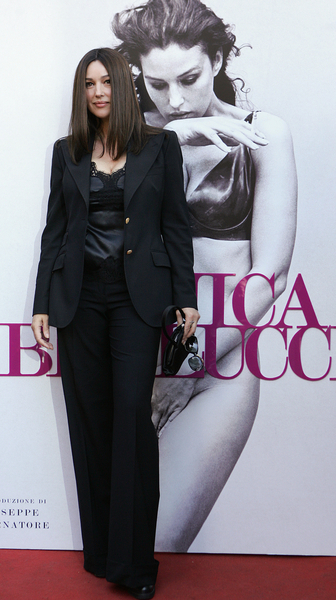"""""""Monica Bellucci"""" Photographic Book Presentation in Downtown Rome on November 6, 2010"""