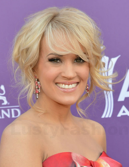 Carrie-Underwood-short-waves-hairstyle-2014