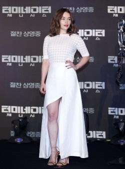 Emilia Clarke Genisys Seoul 03